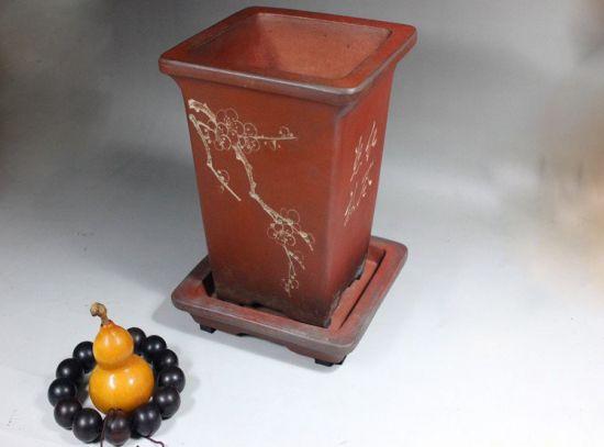 宜兴紫砂陶盆