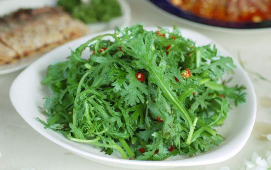 皇帝菜茼蒿的功效和作用