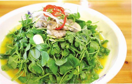生炒金花菜