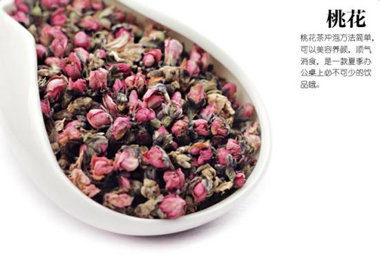 桃花茶的功效与作用:久喝损元气