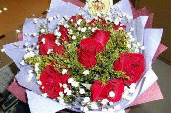 <b>十一朵玫瑰花代表什么?一生一世/一心一意的爱情</b>